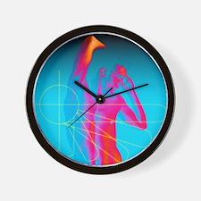 Male impotence Wall Clock