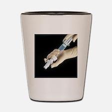 Manual vacuum abortion equipment Shot Glass