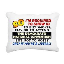 Voter ID Rectangular Canvas Pillow