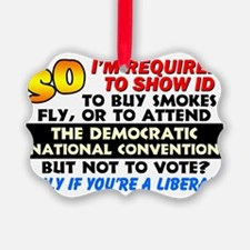 Voter ID Ornament