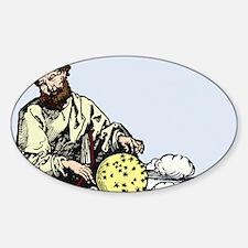 Marcus Manilius, Roman astronomer Sticker (Oval)