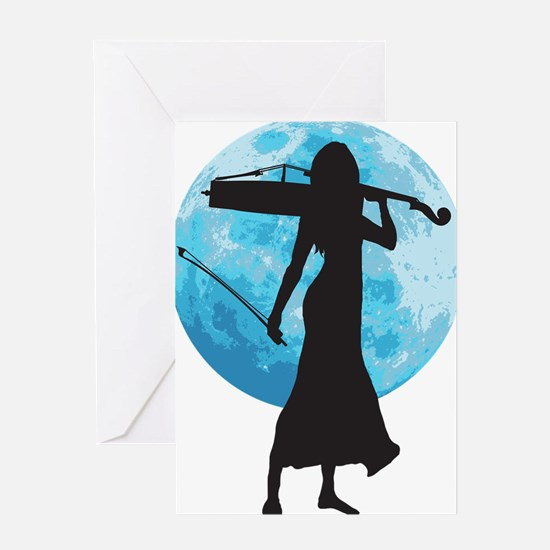 Cello-Player-20-a Greeting Card