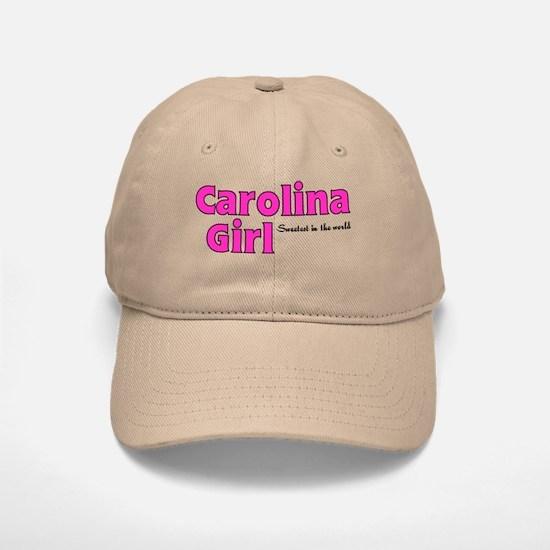 Carolina Girl Baseball Baseball Cap