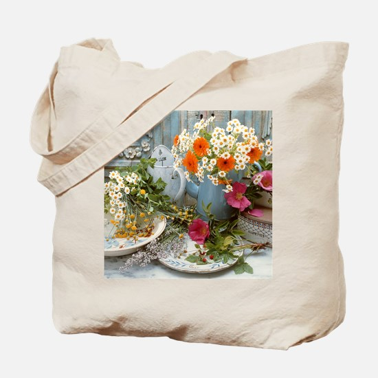 Medicinal plants Tote Bag