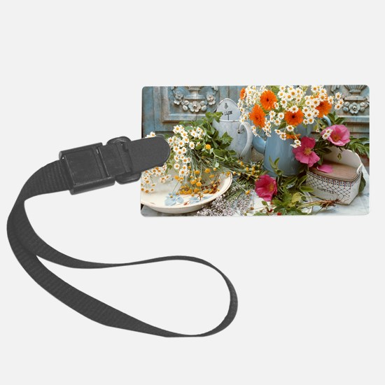 Medicinal plants Luggage Tag
