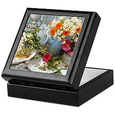 Medicinal plants Keepsake Box