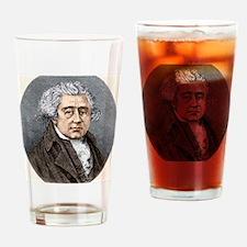 Matthew Boulton, British engineer Drinking Glass