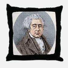 Matthew Boulton, British engineer Throw Pillow