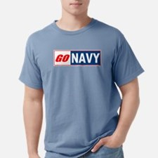 Go Navy Ash Grey T-Shirt