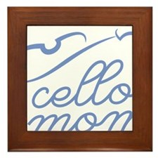 Cello-Mom-01-a Framed Tile