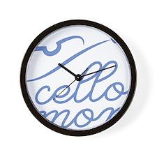 Cello-Mom-01-a Wall Clock