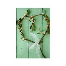 Mistletoe decoration Rectangle Magnet