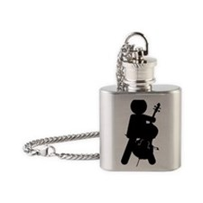 Cello-Player-13-a Flask Necklace