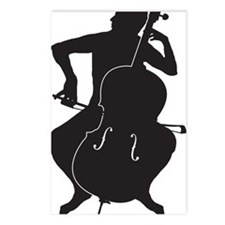 Cello-Player-15-a Postcards (Package of 8)