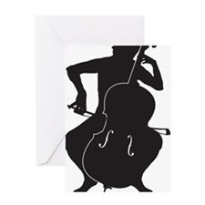 Cello-Player-15-a Greeting Card