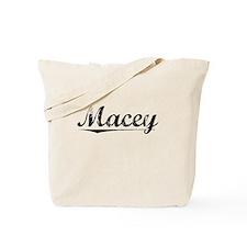 Macey, Vintage Tote Bag