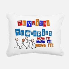 PT MOVE IT Rectangular Canvas Pillow