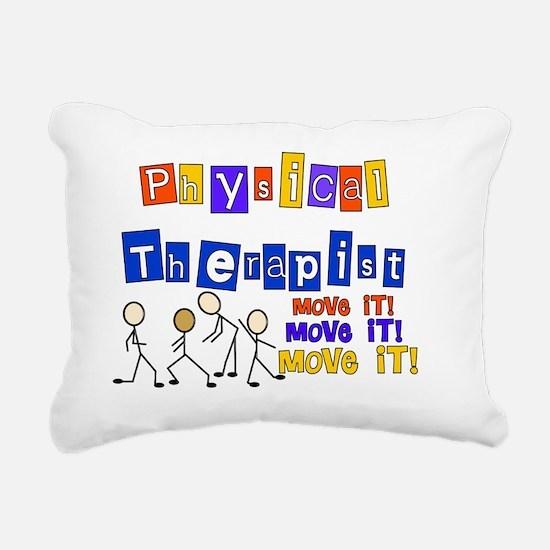 PT Move it SHIRTS 2 Rectangular Canvas Pillow