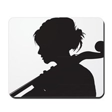 Cello-Player-07-a Mousepad