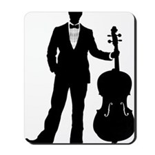 Cello-Player-09-a Mousepad
