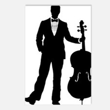 Cello-Player-09-a Postcards (Package of 8)