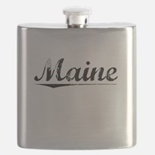 Maine, Vintage Flask
