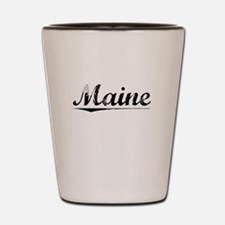 Maine, Vintage Shot Glass