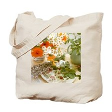 Medicinal plants Tote Bag