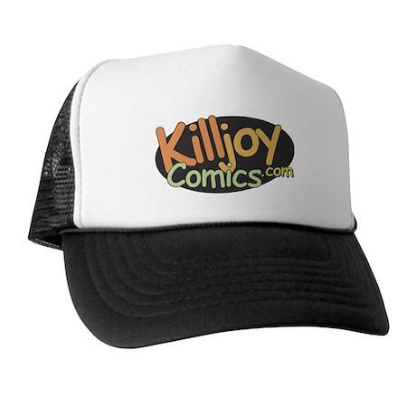 Killjoy Comics logo Trucker Hat