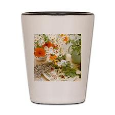 Medicinal plants Shot Glass