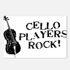 Cello-Players-Rock-01-a Postcards (Package of 8)