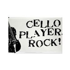 Cello-Players-Rock-01-a Rectangle Magnet