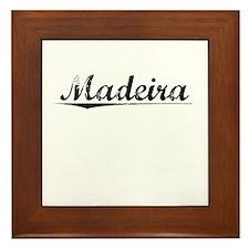 Madeira, Vintage Framed Tile