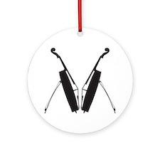 Cello-12-a Round Ornament
