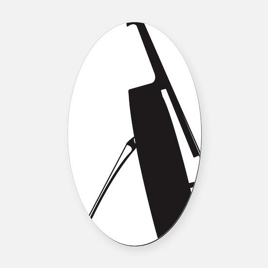 Cello-11-a Oval Car Magnet