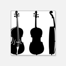 "Cello-08-a Square Sticker 3"" x 3"""