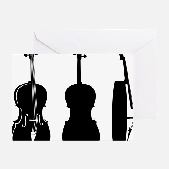 Cello-08-a Greeting Card