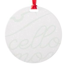 Cello-Mom-01-b Ornament