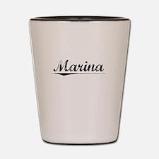 Marina, Vintage Shot Glass