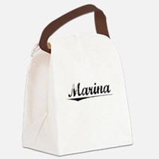 Marina, Vintage Canvas Lunch Bag