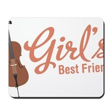 Girls-Best-Friend Mousepad