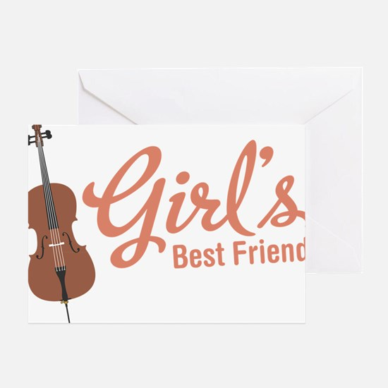 Girls-Best-Friend Greeting Card