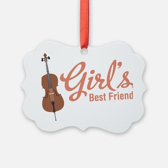Girls-Best-Friend Ornament