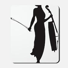 Cello-Player-05-a Mousepad