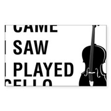 I-Came-I-Saw-I-Played-Cello-01 Decal