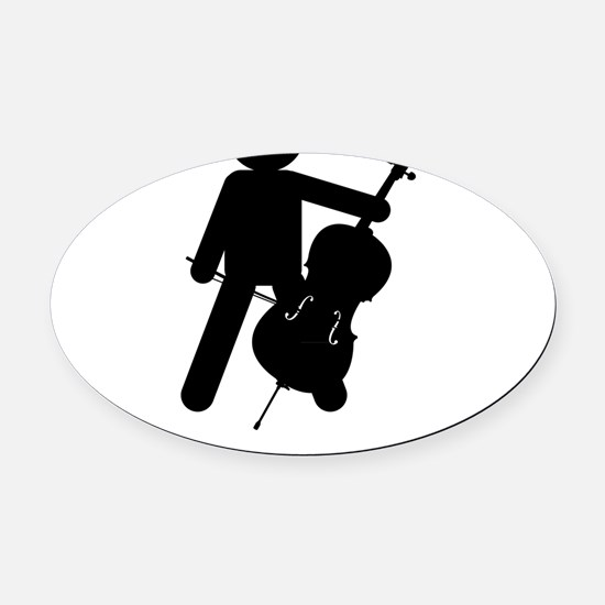 I-Do-All-My-Own-Stunts-06-a-01 Oval Car Magnet