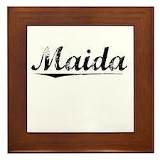 Maida, Vintage Framed Tile