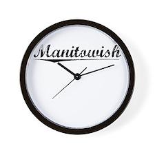 Manitowish, Vintage Wall Clock