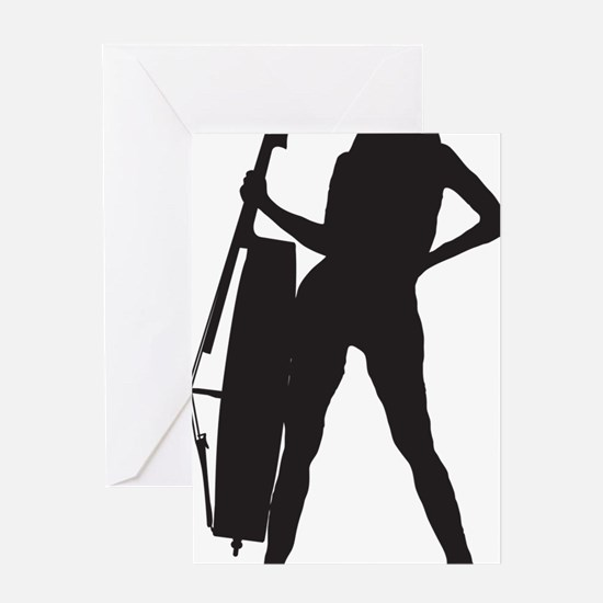 Cello-Player-04-a Greeting Card