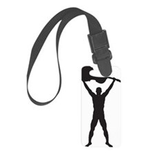Cello-Player-11-a Luggage Tag